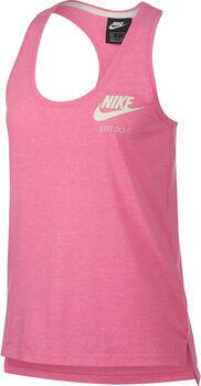 Nike Gym Vintage top Dames Paars
