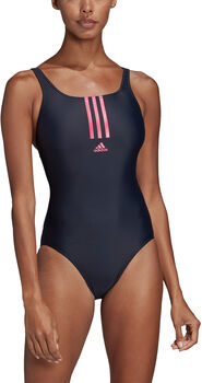 adidas SH3.RO Mid 3-Stripes badpak Dames Blauw