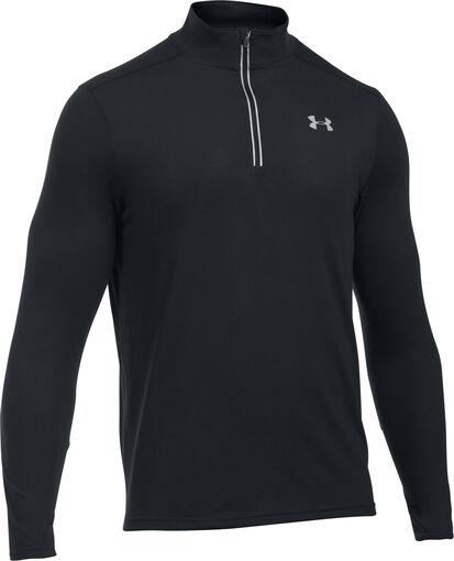Under Armour - UA Streaker 1/4 zip shirt - Heren - Shirts - Zwart - L