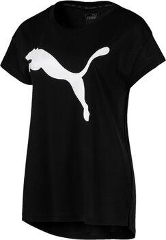 Puma Active Logo shirt Dames Zwart