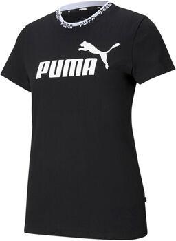 Puma Amplified Graphic shirt Dames Zwart