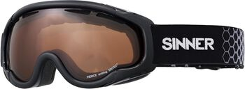 Sinner Fierce skibril Zwart