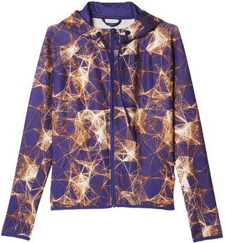 ADIDAS Printed Gym hoodie Dames Neutraal