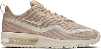 Nike Air Max Sequent hardloopschoenen Dames Ecru