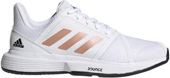 adidas CourtJam Bounce tennisschoenen Dames Wit
