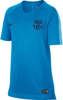 Nike Breathe FC Barcelona Squad shirt Jongens Blauw