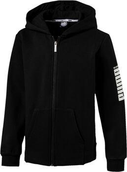 Puma Rebel Bold hoodie Jongens Zwart