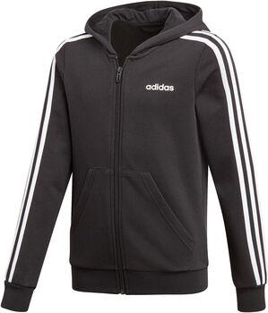 adidas Essentials 3-Stripes kids hoodie Meisjes Zwart