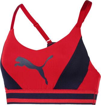 Puma Logo sportbeha Dames Rood