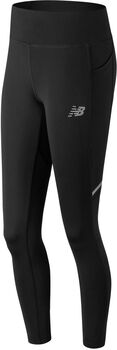 New Balance Premium Printed Impact tight Dames Zwart