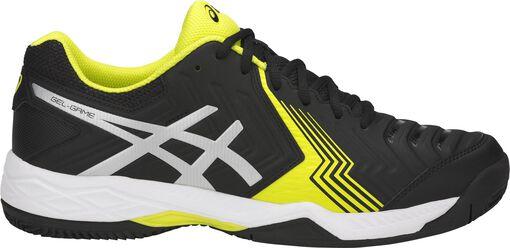 Asics - GEL-Game 6 clay tennisschoenen - Heren - Schoenen - Zwart - 43,5