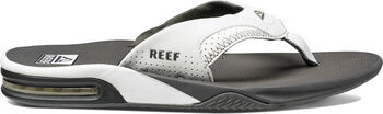 Reef Fanning slippers Heren Grijs