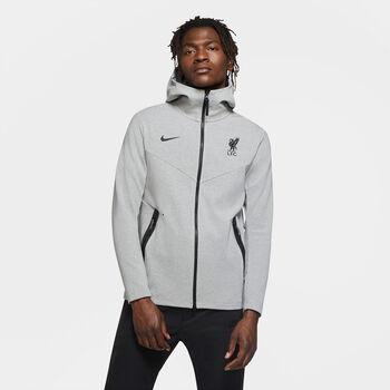Nike Liverpool FC Tech Pack hoodie Heren Grijs