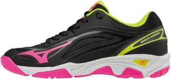 Mizuno Wave Ghost indoorschoenen Dames Zwart