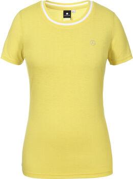 Luhta Aakkola t-shirt Dames Geel