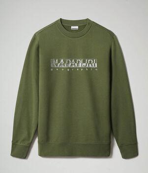 Napapijri Ballar sweater Heren Groen