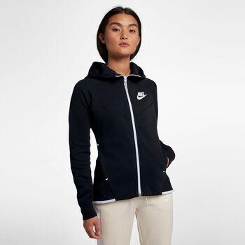 Nike Sportswear Tech Fleece hoodie Dames Zwart