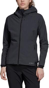 ADIDAS Terrex Climaheat Ultimate Hooded Fleece Jack Dames Grijs