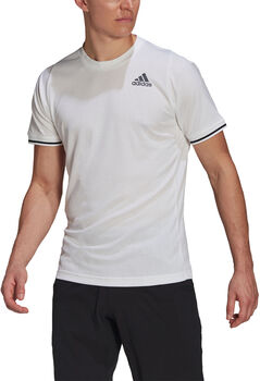adidas Tennis Freelift T-shirt Heren Wit