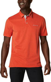 Columbia Nelson Point polo Heren Rood