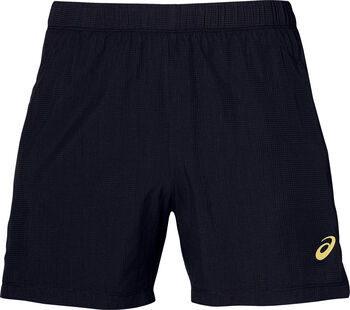 "Asics Cool 2-N-1 5"""" short Heren Zwart"