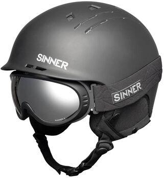 Sinner Combi-pack helmen (Pincher Runner II) Heren Zwart