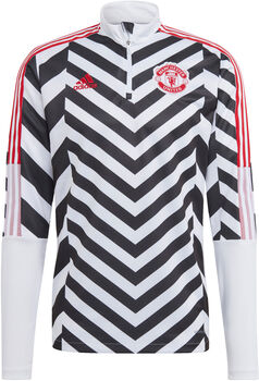 adidas Manchester United Graphic Trainingsjack Heren Wit