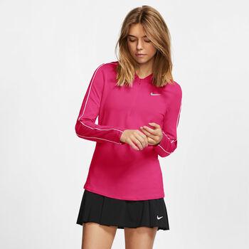 Nike Dry longsleeve Dames Rood