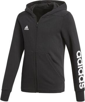 ADIDAS Essentials Mid jr hoodie Zwart