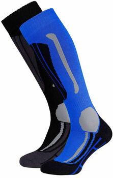 Falcon Victor skisokken Heren Blauw