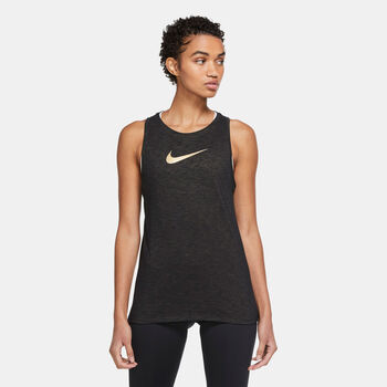 Nike Dri-FIT Icon Clash tanktop Dames Zwart