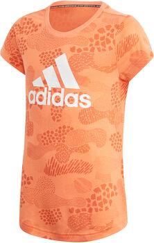 adidas Must Haves Graphic T-shirt Meisjes Oranje