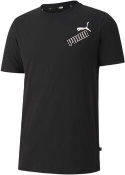 Puma Amplified t-shirt Heren Zwart