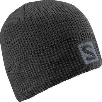 Salomon Logo beanie Heren Zwart