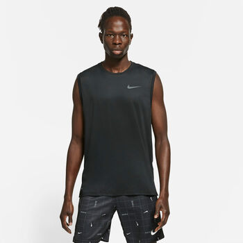 Nike Pro Hyperdry hemd Heren Zwart