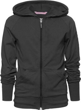 Papillon jacket hooded, cotton jr Meisjes Zwart