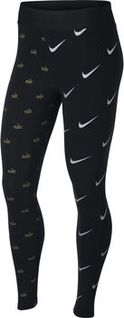 Nike Metallic tight Dames Zwart