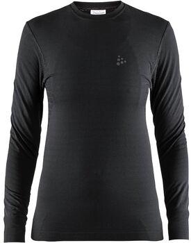 Craft Warm Comfort LS shirt Dames Zwart