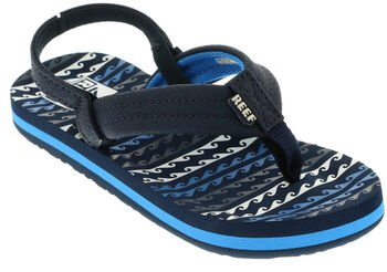 Reef Little Ahi slippers Jongens Blauw