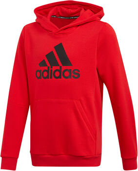 adidas Must Haves Badge of Sport Fleece kids sweater Rood