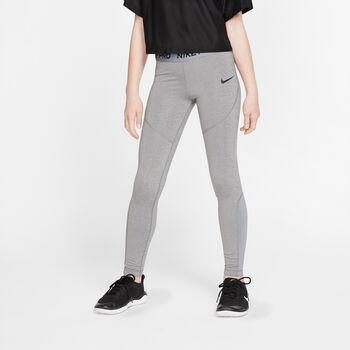 Nike Pro tight Meisjes Grijs