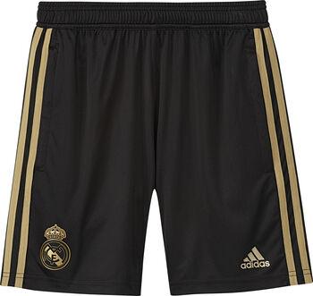 ADIDAS Real Madrid jr training short 2019-2020 Jongens Zwart