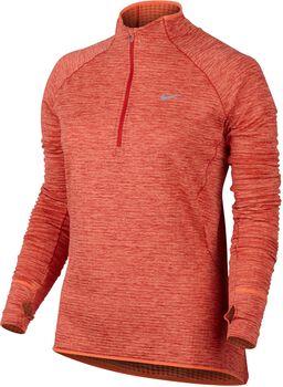 Nike Element Sphere Half Zip longsleeve Dames Oranje