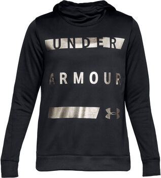 Under Armour Synthetic Fleece sweater Dames Zwart