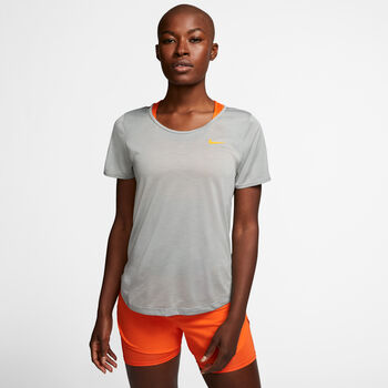 Nike Running shirt Dames Grijs