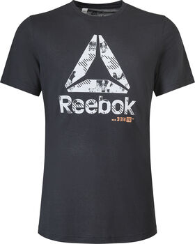 Reebok Actron Graphic shirt Heren Zwart