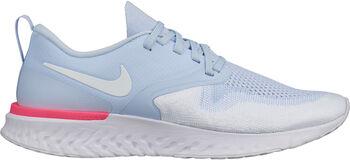 Nike Odyssey React Flyknit 2 hardloopschoenen Dames Blauw