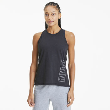 Puma Twist It Logo top Dames Zwart