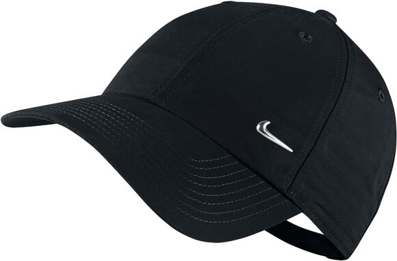 Metal Swoosh Logo cap