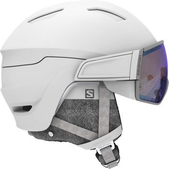Salomon Mirage Photo skihelm Wit